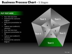 PowerPoint Slidelayout Chart Quadrant Diagram Ppt Slide