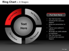 PowerPoint Slidelayout Chart Ring Chart Ppt Themes