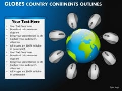 PowerPoint Slidelayout Company Globes Country Ppt Design