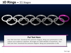 PowerPoint Slidelayout Company Rings Ppt Design Slides