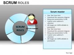 PowerPoint Slidelayout Corporate Teamwork Scrum Process Ppt Design