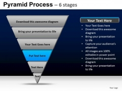 PowerPoint Slidelayout Diagram Pyramid Process Ppt Template