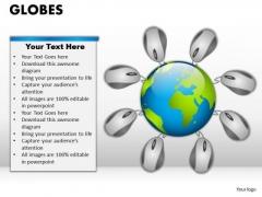 PowerPoint Slidelayout Editable Globes Ppt Themes