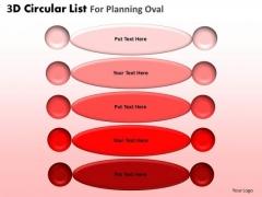 PowerPoint Slidelayout Executive Designs 3d List Ppt Presentation