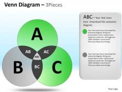 PowerPoint Slidelayout Executive Teamwork Venn Circle Chart Diagram Ppt Process