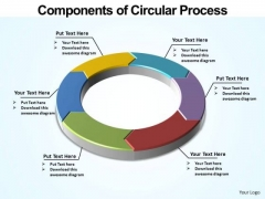 PowerPoint Slidelayout Global Circular Process Ppt Design