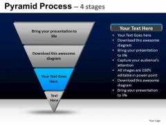 PowerPoint Slidelayout Growth Pyramid Process Ppt Design