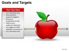 PowerPoint Slidelayout Image Goals And Targets Ppt Slidelayout