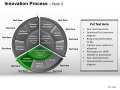 PowerPoint Slidelayout Leadership Pie Chart Ppt Slidelayout