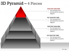 PowerPoint Slidelayout Leadership Pyramid Ppt Process
