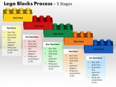 PowerPoint Slidelayout Process Lego Blocks Ppt Process