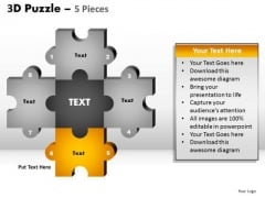 PowerPoint Slidelayout Process Puzzle Pieces Ppt Layouts
