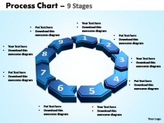 PowerPoint Slidelayout Sales Process Chart Ppt Designs