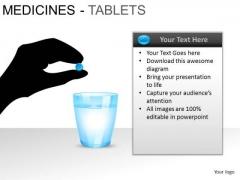 PowerPoint Slidelayout Strategy Medicine Tablets Ppt Slide Designs