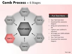 PowerPoint Slidelayout Strategy Wheel And Spoke Process Ppt Presentation Designs