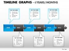 PowerPoint Slidelayout Teamwork Timeline Graphs Ppt Slides