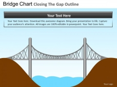 PowerPoint Slides Bridge Chart Business Designs Ppt Templates