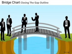 PowerPoint Slides Bridge Chart Business Leadership Ppt Slide Designs