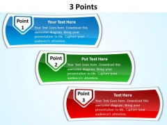 PowerPoint Slides Business 3 Points Ppt Templates