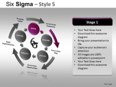 PowerPoint Slides Business Competition Six Sigma Ppt Slides