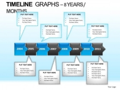 PowerPoint Slides Business Education Timeline Graphs Ppt Process