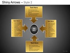 PowerPoint Slides Business Growth Shiny Arrows 2 Ppt Themes