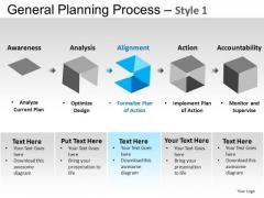 PowerPoint Slides Business Leadership General Planning Process Ppt Slides