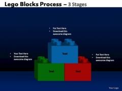 PowerPoint Slides Business Lego Blocks Ppt Slides