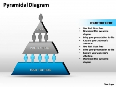 PowerPoint Slides Business Pyramidal Diagram Ppt Process