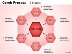 PowerPoint Slides Business Wheel And Spoke Process Ppt Themes