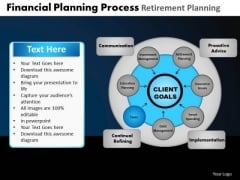 PowerPoint Slides Chart Financial Planning Ppt Template