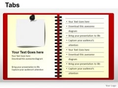PowerPoint Slides Chart Tabs Ppt Design