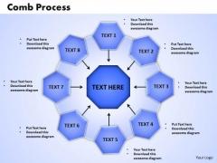 PowerPoint Slides Comb Process Business Ppt Theme