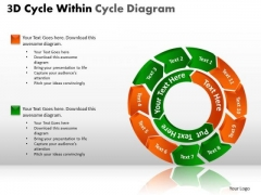 PowerPoint Slides Company Circle Chart Ppt Templates