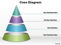 PowerPoint Slides Company Cone Diagram Ppt Design