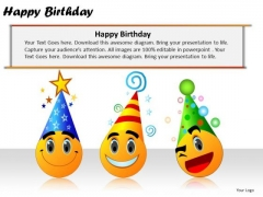 PowerPoint Slides Company Happy Birthday Ppt Templates