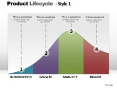 PowerPoint Slides Company Product Lifecycle Ppt Slides