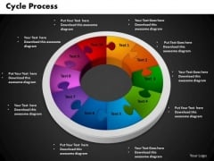 PowerPoint Slides Cycle Process Success Ppt Designs