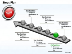 PowerPoint Slides Diagram Steps Plan 6 Stages Style 4 Ppt Design
