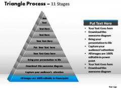 PowerPoint Slides Diagram Triangle Process Ppt Design