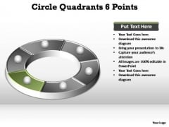 PowerPoint Slides Download Circle Quadrants Ppt Presentation