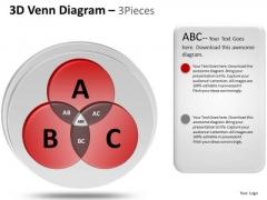 PowerPoint Slides Editable Venn Diagram Ppt Themes