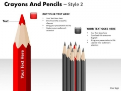PowerPoint Slides Education Crayons And Pencils Ppt Slides