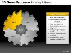 PowerPoint Slides Education Gears Process Ppt Designs