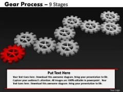 PowerPoint Slides Education Gears Process Ppt Themes