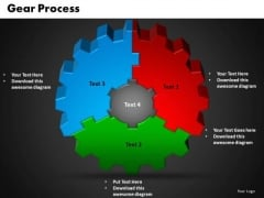 PowerPoint Slides Gear Success Ppt Themes