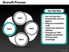PowerPoint Slides Global Cycle Process Ppt Templates