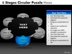 PowerPoint Slides Graphic Circular Puzzle Ppt Layout