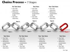 PowerPoint Slides Growth Chains Ppt Design Slides