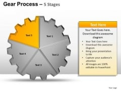 PowerPoint Slides Leadership Gears Process Ppt Template